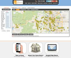 (Map Search: Find A Home) Now you can go from searching, to finding. The stress is over. Introducing the DenverRealEstateFirm.com. No more complicated searches. No more computers guessing how you want to live. Now you can browse properties based on precisely what you want. And then dive into as much information as you need to make smart decisions. We will teach and show you how to search for your home like a pro. Think of it as a find engine, not a search engine.