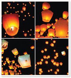 Thailand New Year's Lanterns