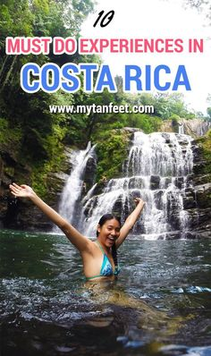 "10 must do experiences in Costa Rica, all these activities capture the essence of the country <a href=""http://mytanfeet.comcosta-rica-travel-tips/essential-costa-rica-experiences/"" rel=""nofollow"" target=""_blank"">mytanfeet.com...</a> http://mytanfeet.comcosta-rica-travel-tips/essential-costa-rica-experiences/"