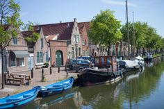 Edam, Netherlands is famous for its amazing namesake cheese.