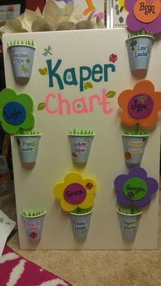 Our Kaper Chart Rocks, just like our Daisies!
