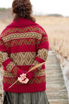 Knitting it.