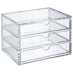 Buy Oscar 3 Drawer Acrylic Organiser Online at johnlewis.com