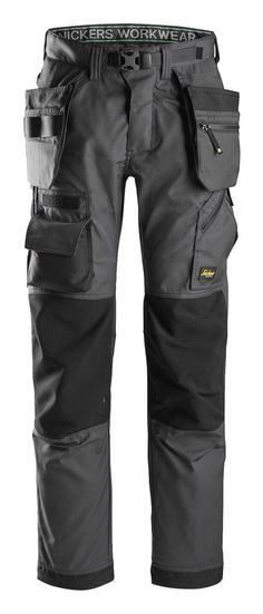 6903 Work Trousers With Kneepad Pockets Snickers Flexiwork