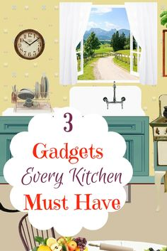 Lovely 3 Awesome And Best Kitchen Gadgets You Must Have!