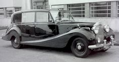 1954 Landaulette by Hooper (chassis 4BP5, body 9941, design 8399) for H.R.H. Queen Elizabeth II