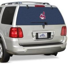 Cleveland Indians Rear Window Film