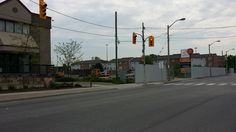Work starting on the Humber Mews site in Etobicoke. Street View