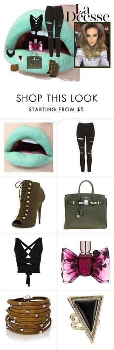 """""""Untitled #4"""" by minela-fehric ❤ liked on Polyvore featuring Topshop, Giuseppe Zanotti, Hermès, Proenza Schouler, Viktor & Rolf, Sif Jakobs Jewellery and House of Harlow 1960"""