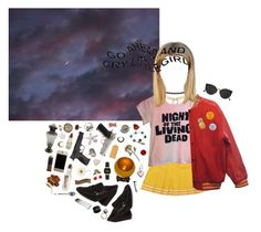 """""""16 year old Harley Quinn"""" by queenofrocknroll ❤ liked on Polyvore featuring Juicy Couture, RetroSuperFuture, Miss Selfridge, Stuart Weitzman, Smith & Wesson, Casio, Bling Jewelry, Olivia Collings Antique Jewelry, Alexis Bittar and Sweet & Co."""