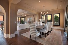 love this dining room.