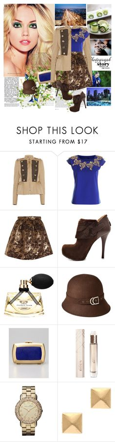 """""""Your beauty is inside you"""" by dani-elan ❤ liked on Polyvore featuring ASOS, Vanity Fair, Burberry, GUESS, Bulgari, Merona, BCBGMAXAZRIA, Marc by Marc Jacobs and Eddie Borgo"""