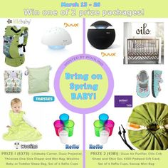 Spring Giveaway! @woolino babywear (Picture from giveaway page was listed as spam, so I couldn't link it directly.)