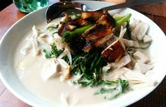 Cafe By The Ruins. Brewing, Chicken, Meat, Ethnic Recipes, Food, Essen, Meals, Yemek, Eten