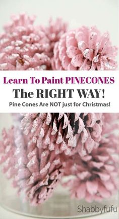 Learn The Right Way To Paint Pinecones! How to paint pinecones the right way! Pinecones are free, so definitely budget friendly. We are showing you the best and fastest way to paint your pine cones with a video included as well. cones Source by shabbyfufu Fall Crafts, Holiday Crafts, Crafts To Make, Arts And Crafts, Diy Crafts, Nature Crafts, Budget Crafts, Beach Crafts, Summer Crafts
