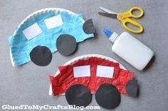 Paper Plate Cars {Kid Craft}-fun for Transportation theme! Daycare Crafts, Kids Crafts, Paper Plate Crafts For Kids, Car Crafts, Preschool Art Projects, Preschool Arts And Crafts, Toddler Art Projects, Preschool Christmas, Christmas Crafts