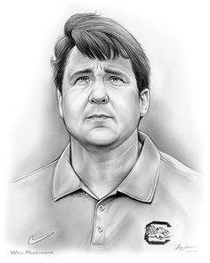 Coach Will Muschamp, University of South Carolina Football