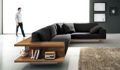 Decoração: Sofá de Canto - Cores da Casa