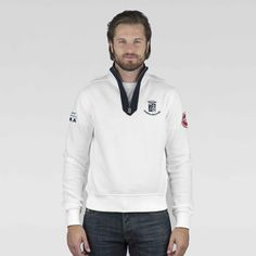 www.marinamilitare-sportswear.com #marinamilitaresportswear #newcollection #FW2014 #menfashion #sweatshirt #white #fashionblogger #style #cool #sportswear #repin