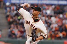 San Francisco Giants Ryan Vogelsong