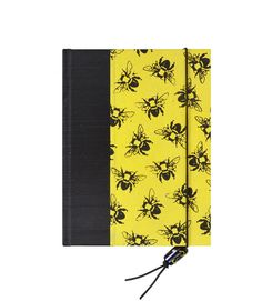 Address Book Medium Bumble Bee by WolfiesBindery on Etsy