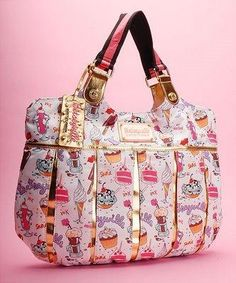 Betsey Johnson Cupcake Handbag!!!!! YUMMMO - would love to add to my collection!