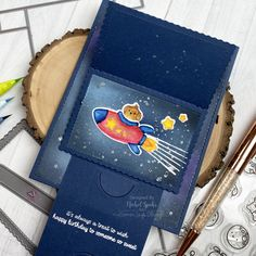 Out of This World Mega Flipper (Mama Elephant) Mama Elephant, Out Of This World, Design Inspiration, Treats, Sweet, Happy, Projects, Cards, Exercise