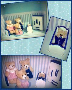 Quadro Cenário para enfeitar o quarto do bebê!!! #babyDaviLucca