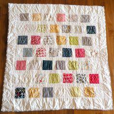 Baby Quilt / Playmat / Blanket. $70.00, via Etsy.