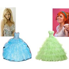 """""""Odette and Thumbelina at the Ball"""" by mandilynn726 on Polyvore"""