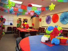 Cinco De Mayo party decorations by Brenda