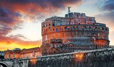 帝国内を発展させた帝 【イタリア】皇帝が眠る天使の城「サンタンジェロ城」