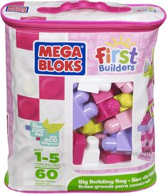 MEGA BLOKS FB Duża torba klocków - dziewczynka (60)
