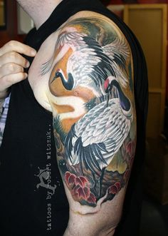 Awesome tattoo by Robert Witczuk