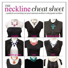 best necklaces for necklines - Google Search