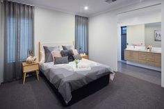 Blueprint Homes, Master Bedroom