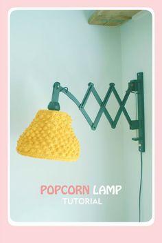 de creatieve uitspattingen van een jonge moeder : Haak een lamp!