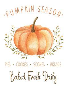Celebrate pumpkin season with these free farmhouse style pumpkin season fall printables and tags. Perfect for your fall decor or fall baking items. Autumn Crafts, Autumn Art, Autumn Witch, Pumpkin Printable, Hallowen Ideas, Fall Wallpaper, Fall Baking, Painted Pumpkins, Fall Diy