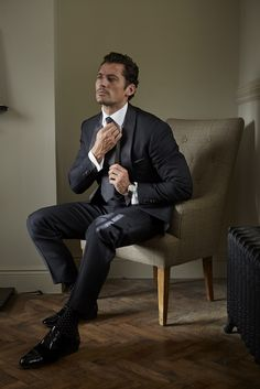 #New HQ || David Gandy for London Sock Co. 2016 || Ph: Philip Panting