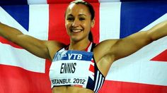 Jessica Ennis - she deserves a nice meal with good company