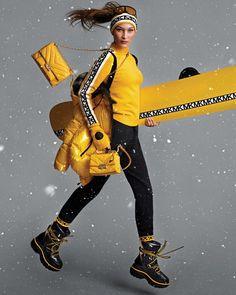 Fashion Photo, New Fashion, Fashion Brands, Fashion Hub, Holiday Fashion, Sport Fashion, Fashion Outfits, Fashion Design, Mode Au Ski
