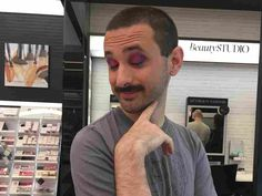 Makeup was once thought to be the exclusive realm of women, but more and more men are experimenting with cosmetics — and the industry is taking notice. A reporter gives it a try. Cosmetics Industry, In Cosmetics, Middle School Boys, Cover Boy, Neutral Makeup, How To Do Makeup, Male Makeup, Cosmetic Companies, Rihanna Fenty