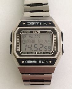 Certina Chrono Alarm (197?)