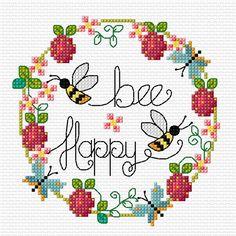 13 πανέμορφα στεφάνια με λουλούδια και ......κεράσια   κεντημένα σταυροβελονιά   13 lovely cross stitch wreaths of flowers and ...........