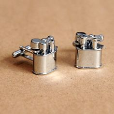 Lighter Cufflinks (and yes, they DO in fact work, just..don't light yourself on fire)