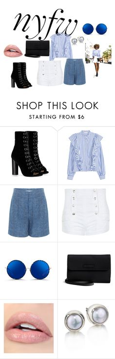 """Rocking the Sidewalk"" by pkgabriel ❤ liked on Polyvore featuring Barbara Bui, 10 Crosby Derek Lam, Pierre Balmain, Matthew Williamson, Vera Bradley, StreetStyle and NYFW"