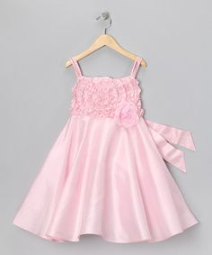 Take a look at this Pink Harper Dress - Girls by Spring Soirée: Girls' Dresses on #zulily today!