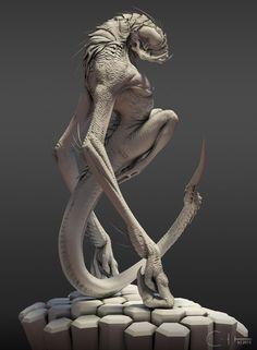 https://artstation.com/artwork/shrieker-clay-renders