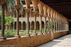Claustre del Monestir de Pedralbes (Barcelona) Spain