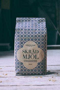 Stöpafors Kvarn (farine) | Design (concept) : Marie Andersson, Malin Bragby, Sebastian Edman, Suède (novembre 2015)